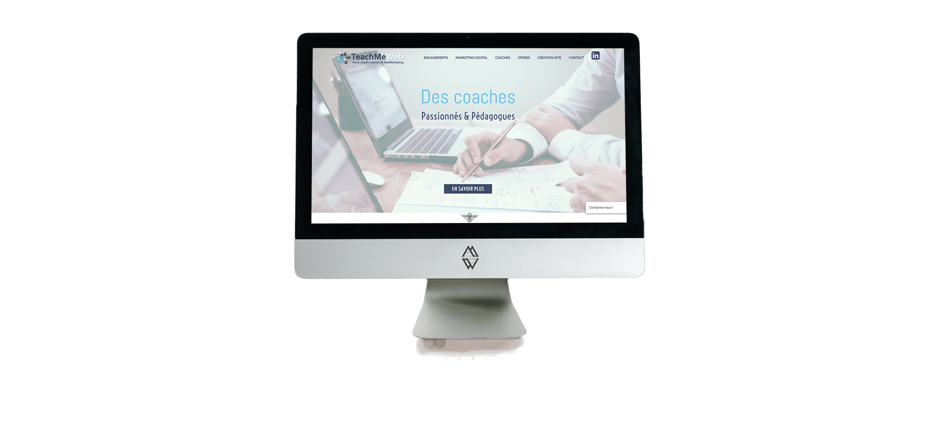 Site Wordpress TeachMeWeb Coaching Marketing Digital