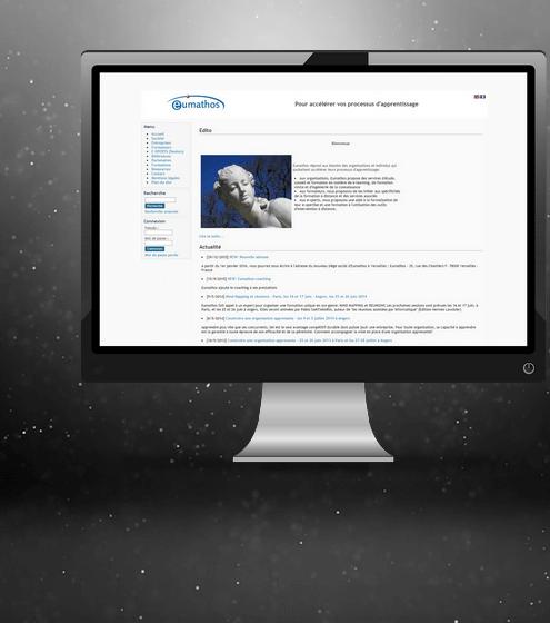 Site Web Eumathos Avant Refonte MotiWeb