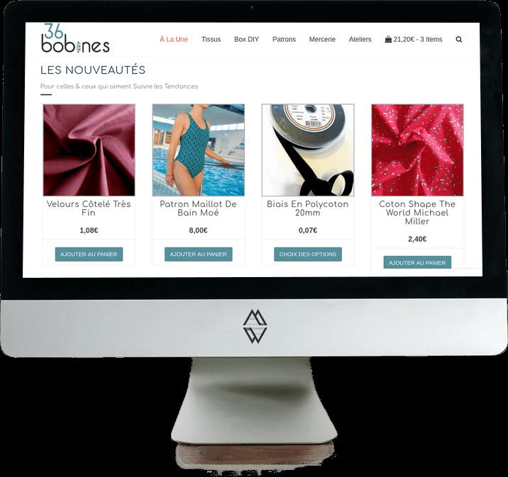 Refonte E-commerce Couture
