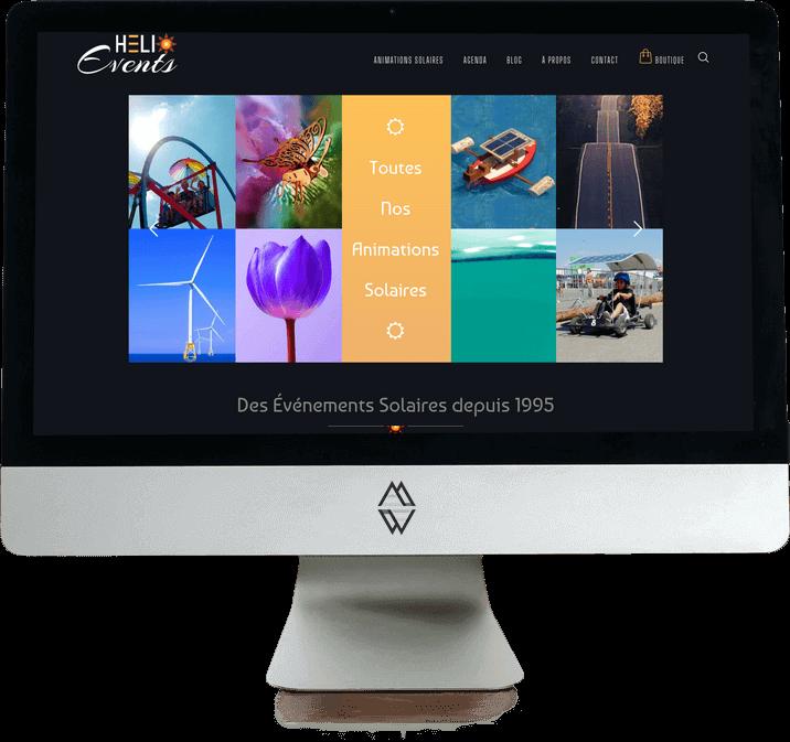 Site Web Agence Événementielle