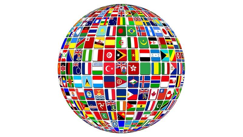drapeaux monde